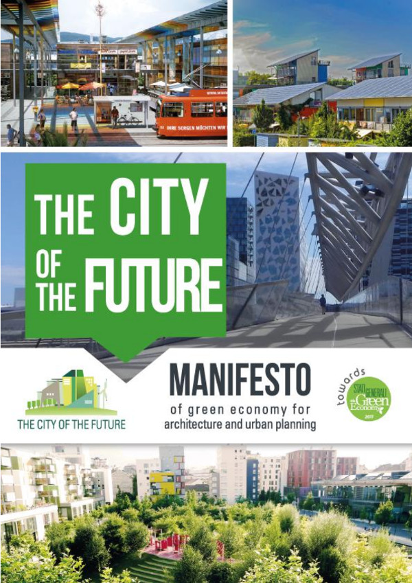 Manifesto The city of the future - cover